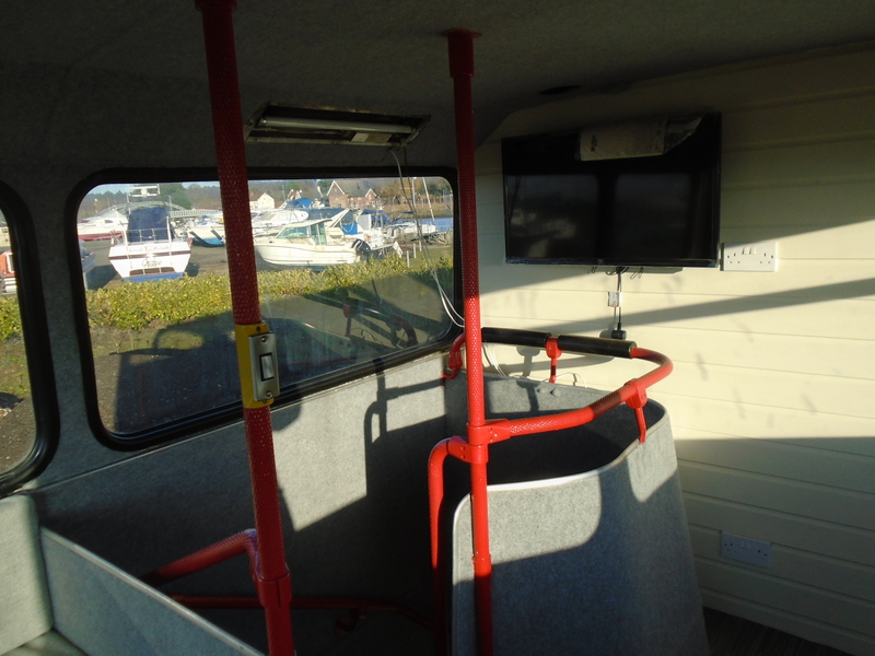 Converted double decker bus to 3 bedroom holiday home