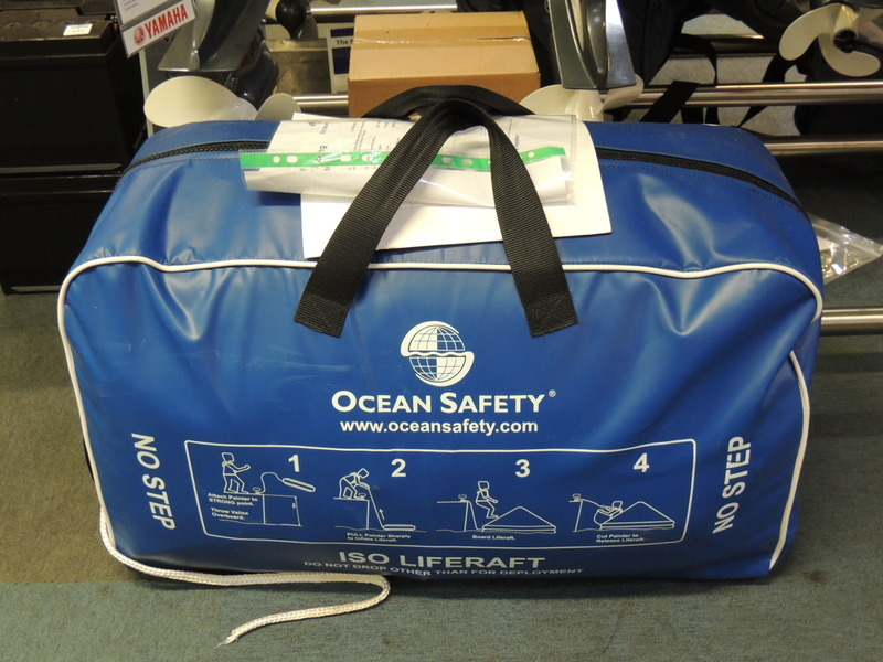 Ocean Safety Ocean ISO 9650 SOLAS B Liferaft 8 Person Valise