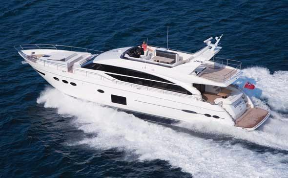 Princess - 82 Motor Yacht  EW 2017