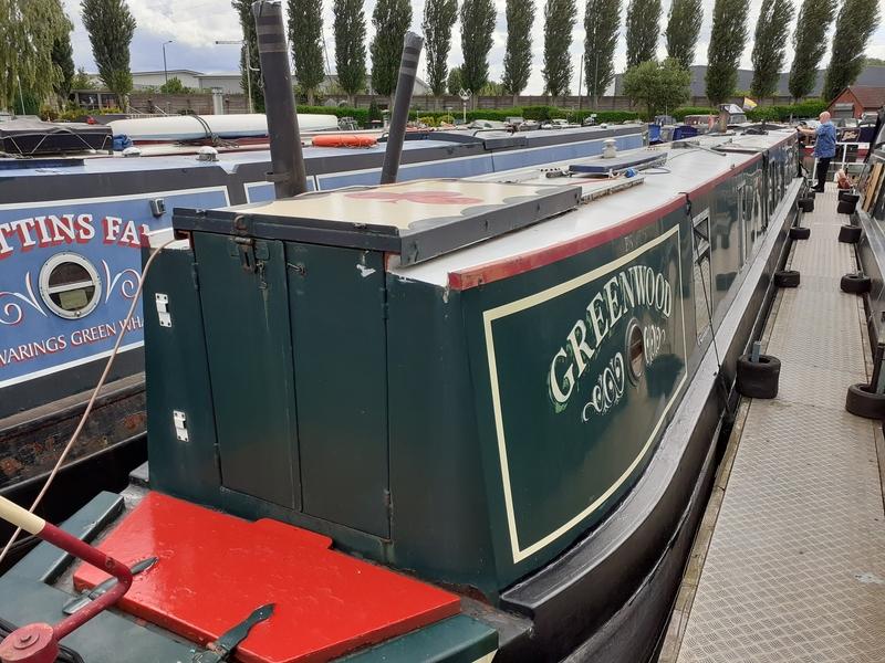 Keith Jones - Greenwood Traditional Stern Narrowboat