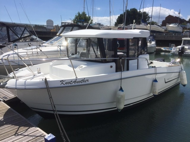 Jeanneau Marlin Sold sold - Merry Fisher 755 Marlin
