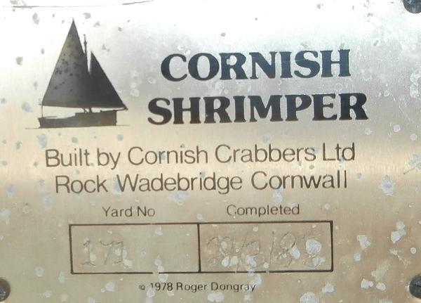 Custom - Cornish Shrimper 19 Mk 1