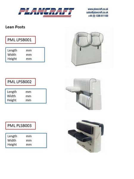 Plancraft - PMLJC004 Large Double Jockey Console