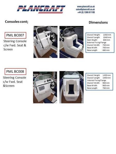 Plancraft - PML JC001 Jockey Steering Console