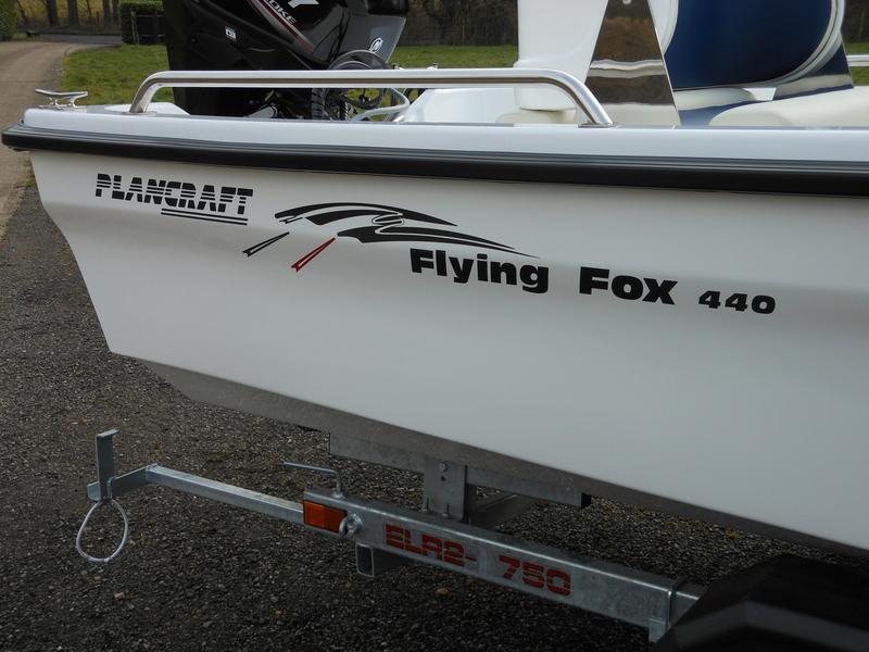 Plancraft FOX Centre Console Dory - FOX 440 CC