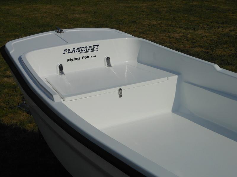 Plancraft FOX Dorys - FOX 440 Open tiller