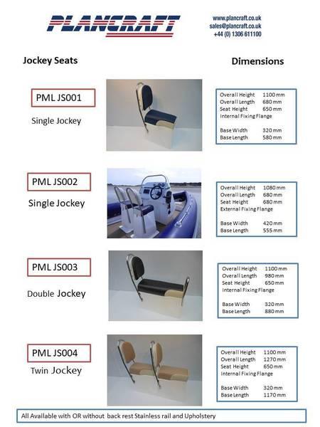 Plancraft RIB Boat Steering Console - PMLBC008
