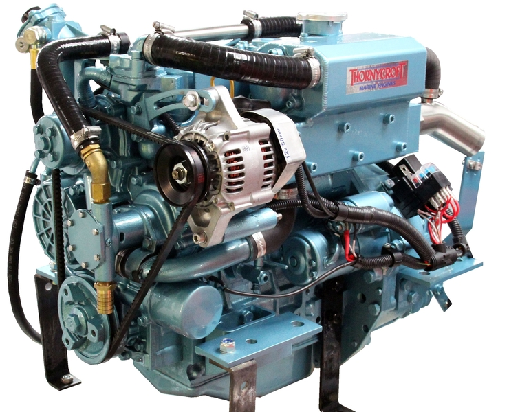Thornycroft -  NEW T-20 20hp Marine Diesel Engine Package