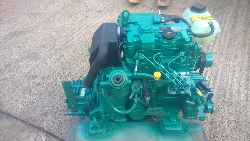 Volvo Penta - D1-30F 29hp Marine Engine Package. 2014Yr Under 100Hrs Use
