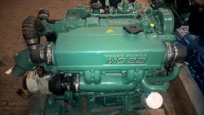 Volvo - MD22 59hp Marine Diesel Engine Package