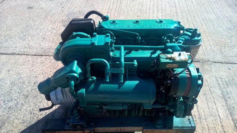 Volvo - 2003T 43hp Marine Diesel Engine