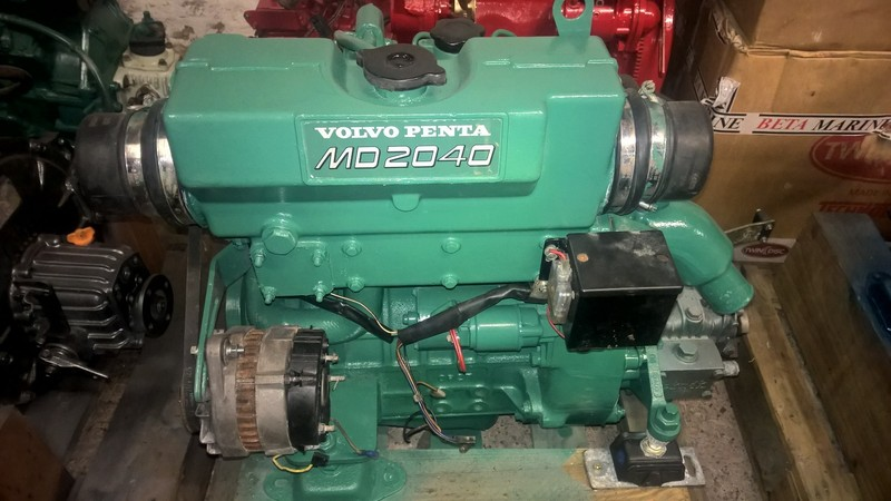 Volvo - MD2040D 40hp Marine Diesel Engine Package