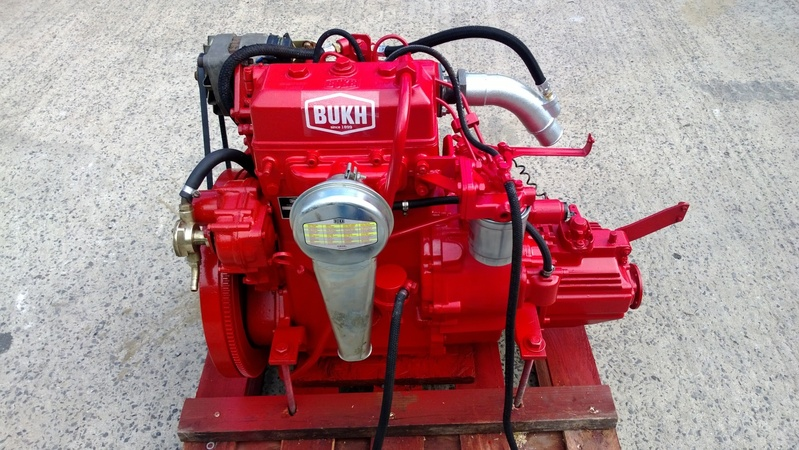 Bukh - DV24 24hp Marine Diesel Engine Package VERY LOW HOURS!!