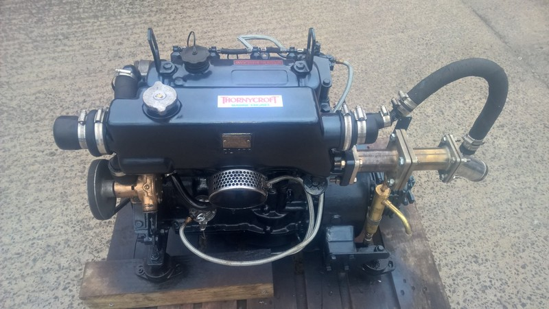 Thornycroft - T90 35hp Marine Diesel Engine Package
