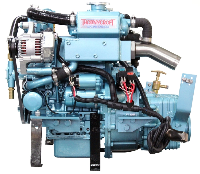 Thornycroft - NEW T-15 15hp Marine Diesel Engine Package