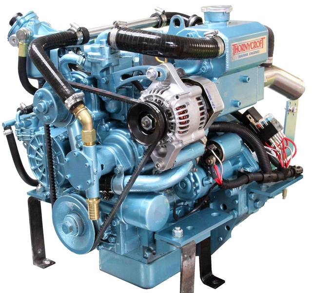 Thornycroft - NEW T-10 10hp Marine Diesel Engine Package
