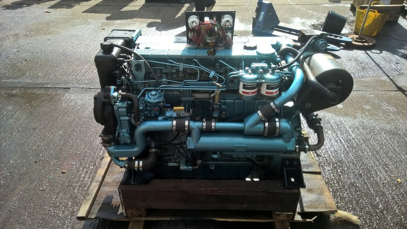 Perkins - M185C 185hp Marine Diesel Engine