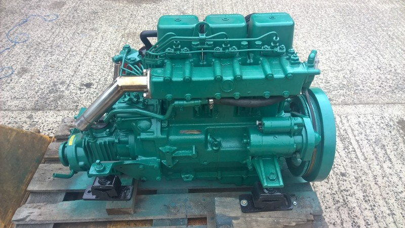 Volvo Penta - MD17d 36hp Marine Diesel Engine Package