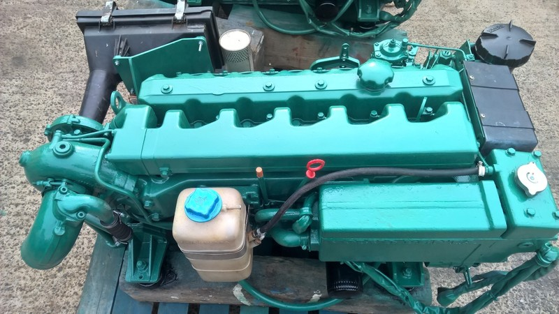 Volvo Penta - TMD40A 136hp Marine Diesel Engine Package - PAIR AVAILABLE