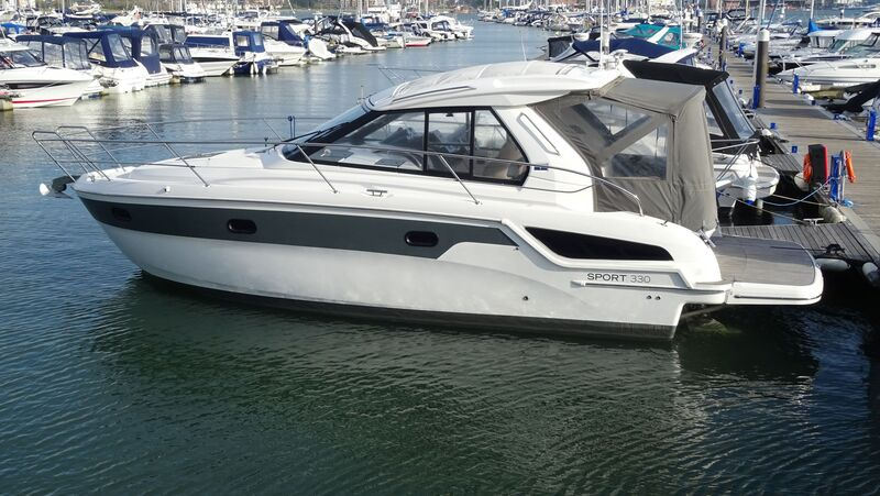 Bavaria Now Sold - Sport 330 HT