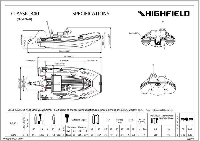 Highfield - 340 with console
