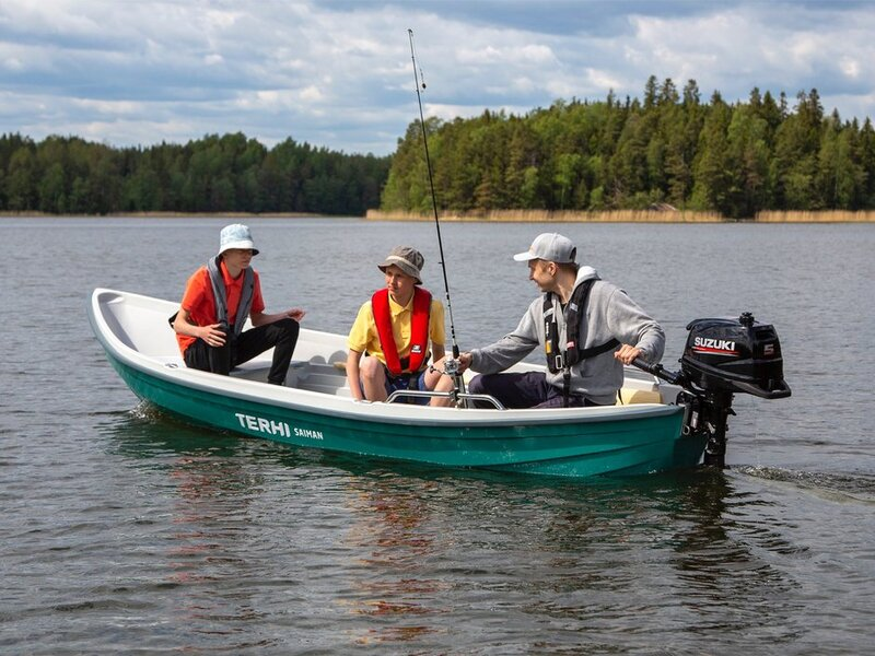 TERHI SAIMAN WITH YAMAHA 6HP 2021 OFFER - SAIMAN