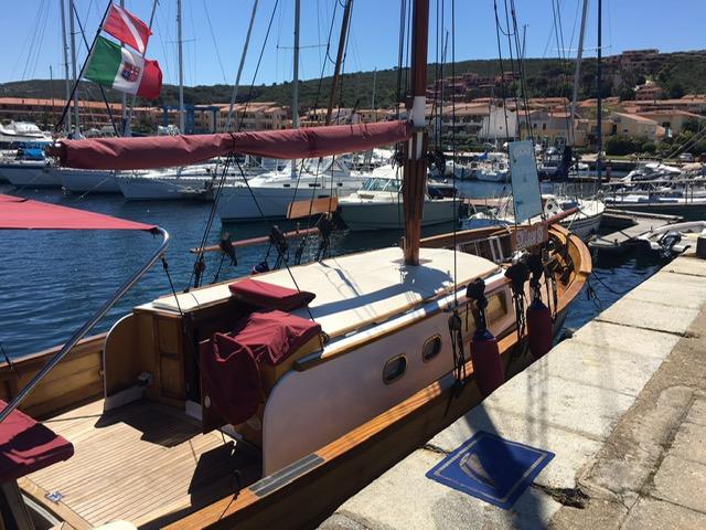 Massa Ciro shipyard Castellammare di Stabia - Vintage Motorsailer