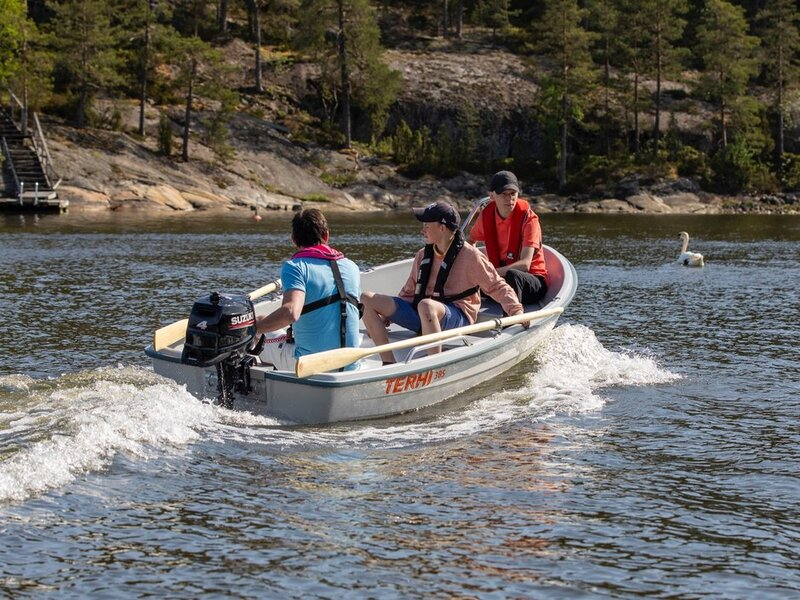 Terhi - 385 and F2.5 Yamaha outboard AVAILABLE IN WHITE