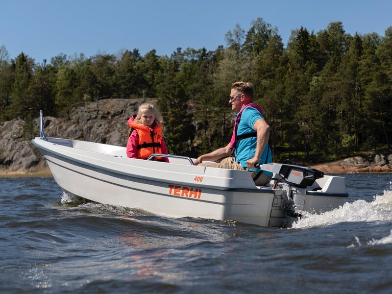 Terhi - 400 OPEN BOAT. GREEN ONLY AVAILABLE TO BUY NOW!