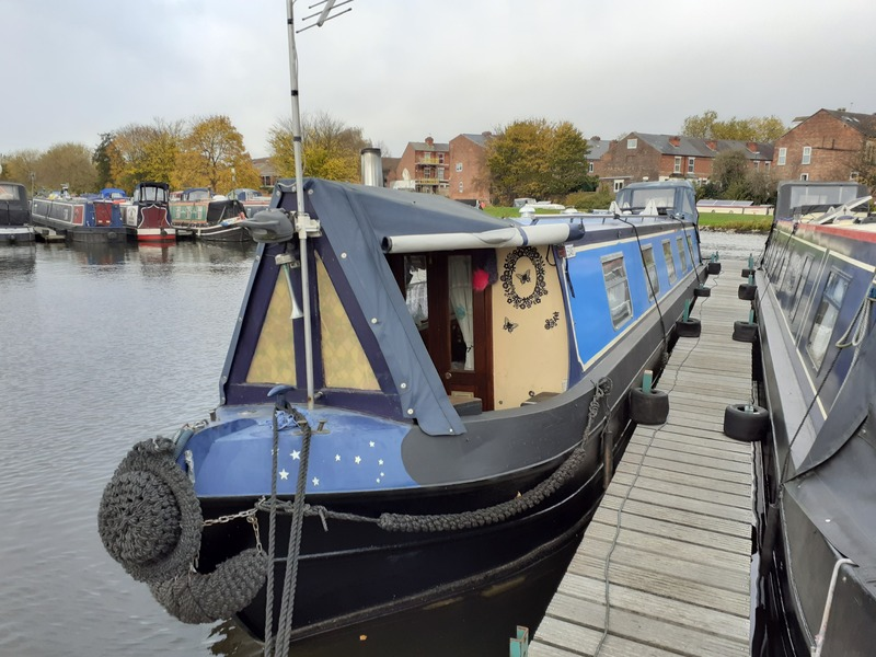 Liverpool Boats - NOW SOLD Rainbows End 50ft Cruiser Stern