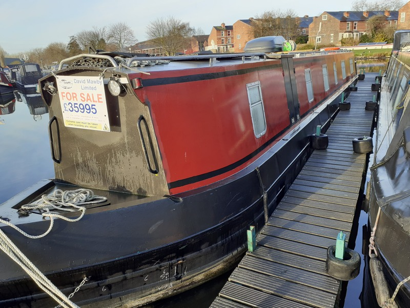 South West Durham Steelcraft - NOW SOLD La Calaca 55ft Cruiser Stern
