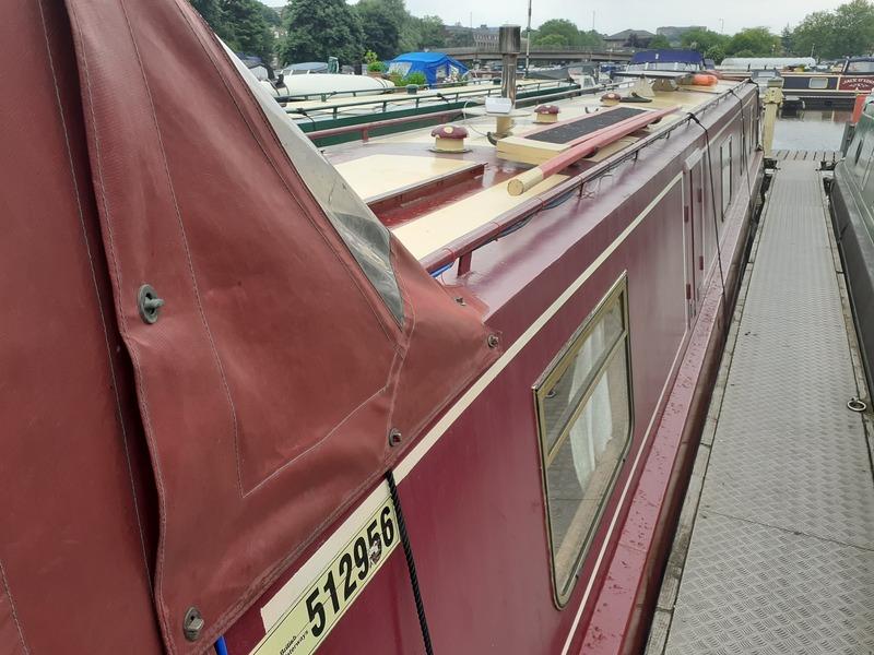 South West Durham Steel Craft - 54ft Cruiser Stern Narrowboat called Sage