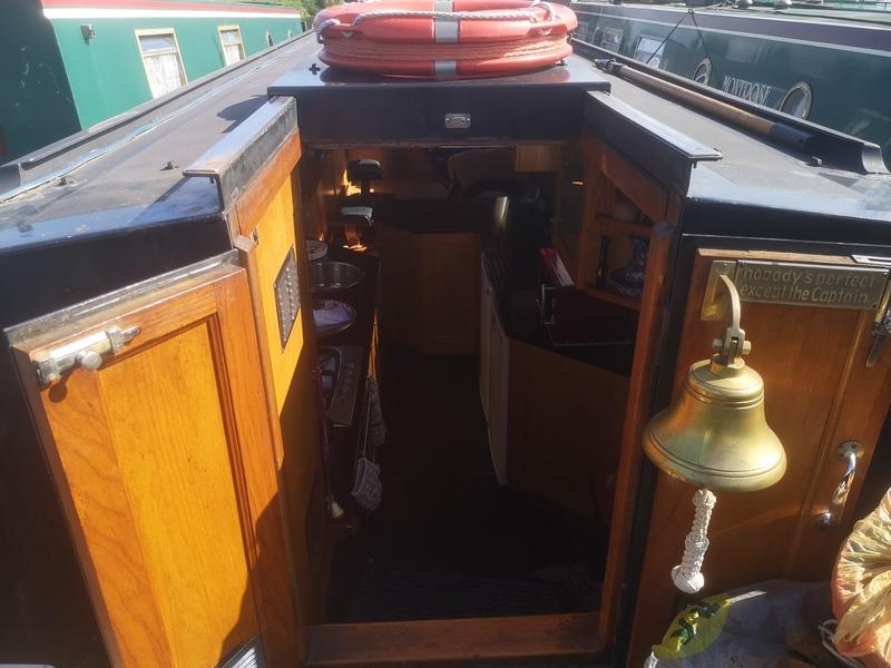 Stem to Stern - 57 Narrowboat (Reverse Layout)