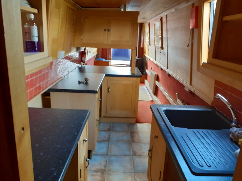 S & P Boat Builders - Trad Stern Narrowboat called Laura James
