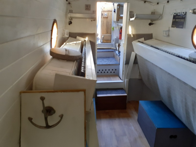 Chappell & Wright - 52ft Trad Stern Narrowboat Called Skydance