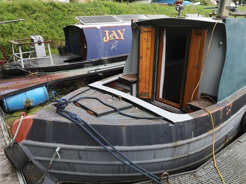 Pat Buckle - 54\' Narrowboat