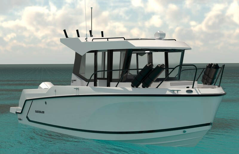 Quicksilver - 705 Pilothouse