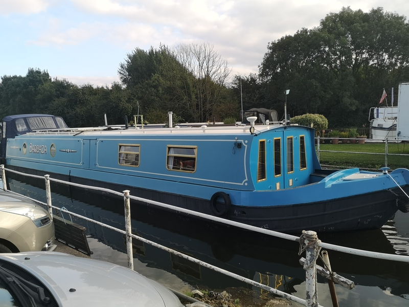 *** SOLD *** Calder Boats - 57 Widebeam