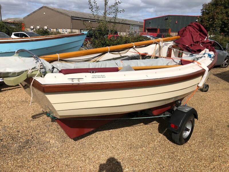 "Character Boat - Post Boat 14\'6\"""